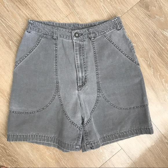 aff319ee2bd0f Patagonia Shorts | Vintage High Waisted Gray Boho | Poshmark